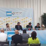 Pressekonferenz EHF Cup Finals - technische Ausstattung